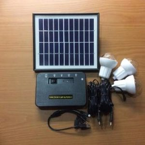Paket Mini Solar Lighting System 4 WP