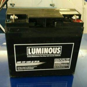Baterai Luminous 12V 18 AH Murah Berkualitas