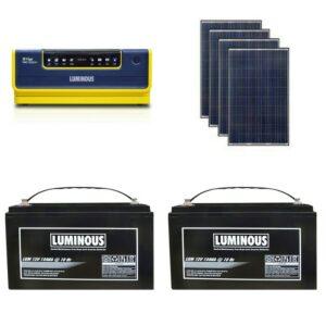 Jual Paket PLTS Hybrid Luminous Murah